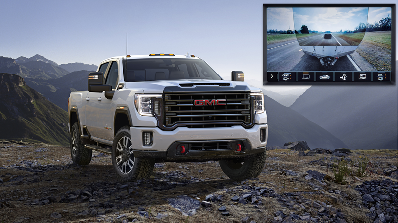 The 2020 Gmc Sierra Hd Lets You See Straight Through The Trailer You