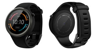 Illustration for article titled Motorola's Fitness-Focused Moto 360 Sport Is Coming in January