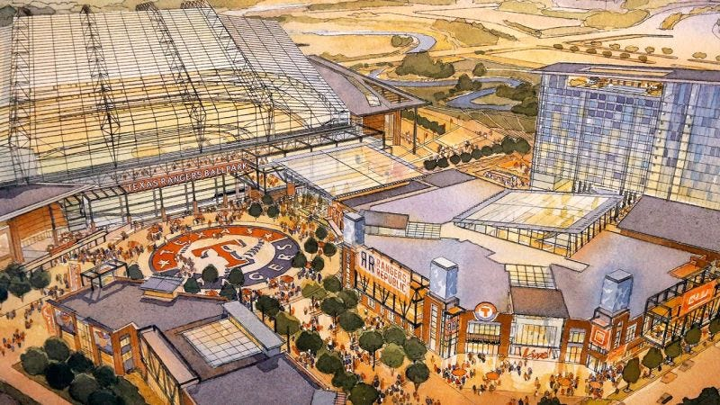 Illustration for article titled The Texas Rangers' Ballpark Scam Is Even Worse Than We Thought