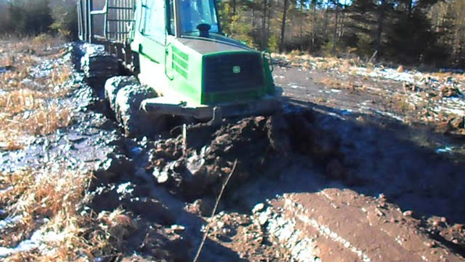 The John Deere 1110d Forwarder Laughs At Your Pickup Truck