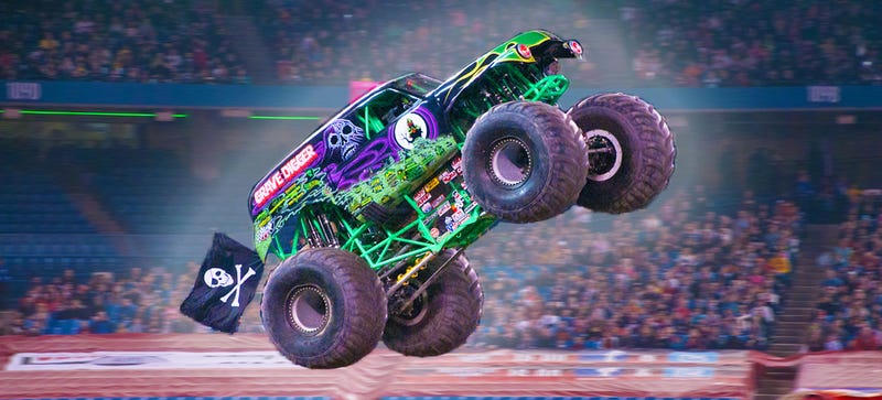 the story behind grave digger the monster truck everybody 39 s heard of. Black Bedroom Furniture Sets. Home Design Ideas