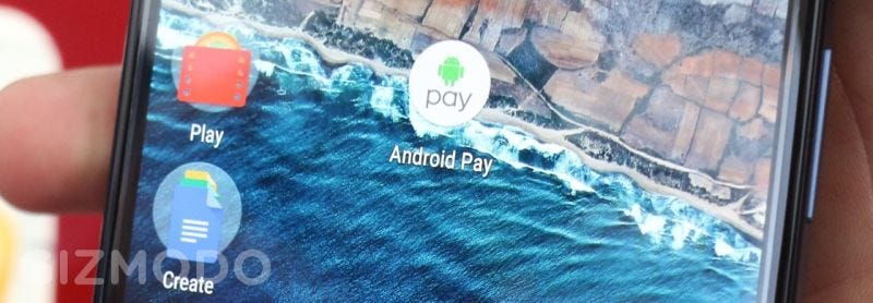 Illustration for article titled Google Hopes Free Goodies Will Persuade You To Use Android Pay