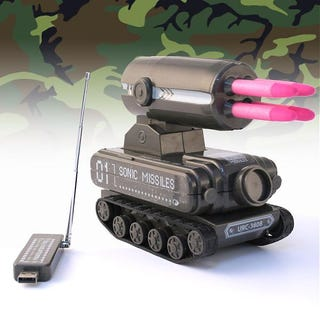 Illustration for article titled USB R/C Tank Missile Launcher Gives You the Ultimate Office Warfare Weapon