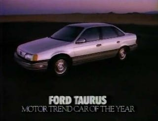 Illustration for article titled The 1986 Ford Taurus, Car Of The Damn Year!