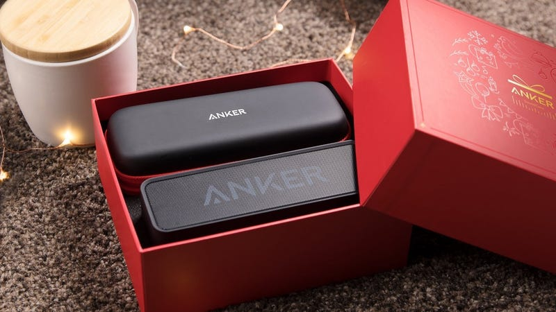 Anker SoundCore Gift Set (Black), $44 with code ANKGIFTB | Red, $44 with code ANKGIFTR