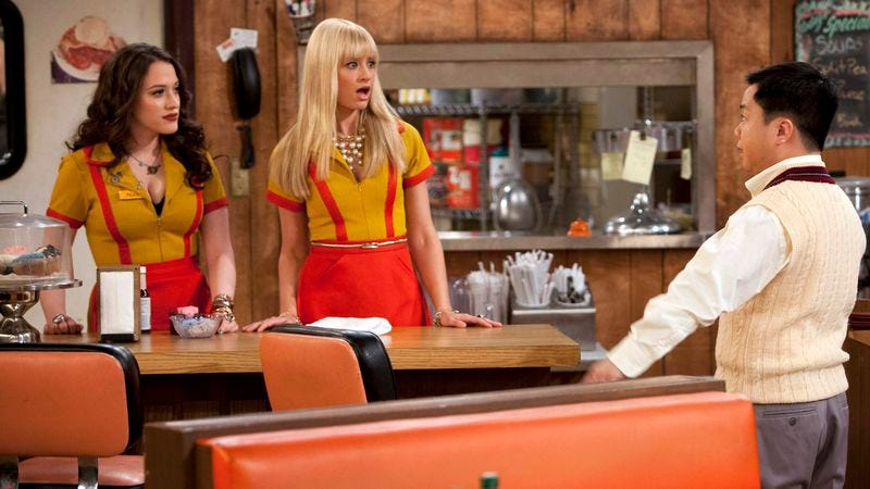 Illustration for article titled 2 Broke Girls will live to offend another day