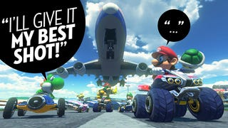 Illustration for article titled Not Being Able To Talk Trash Online In Mario Kart 8 Is Strange