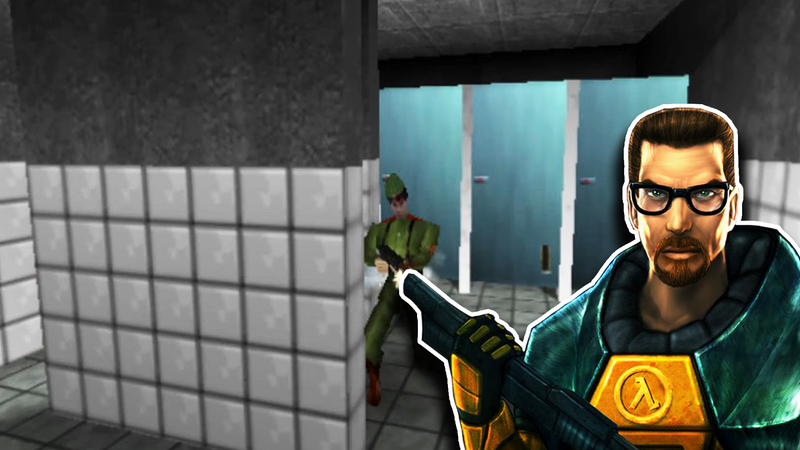 Illustration for article titled After Playing GoldenEye On The N64, Valve Changed Half-Life