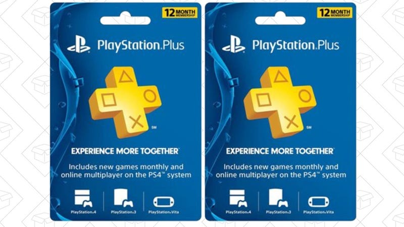 2 Years PlayStation Plus, $90