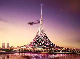 Illustration for article titled World's Biggest Building Coming To Moscow: Looks Like It Will Be Christmas Year-Round