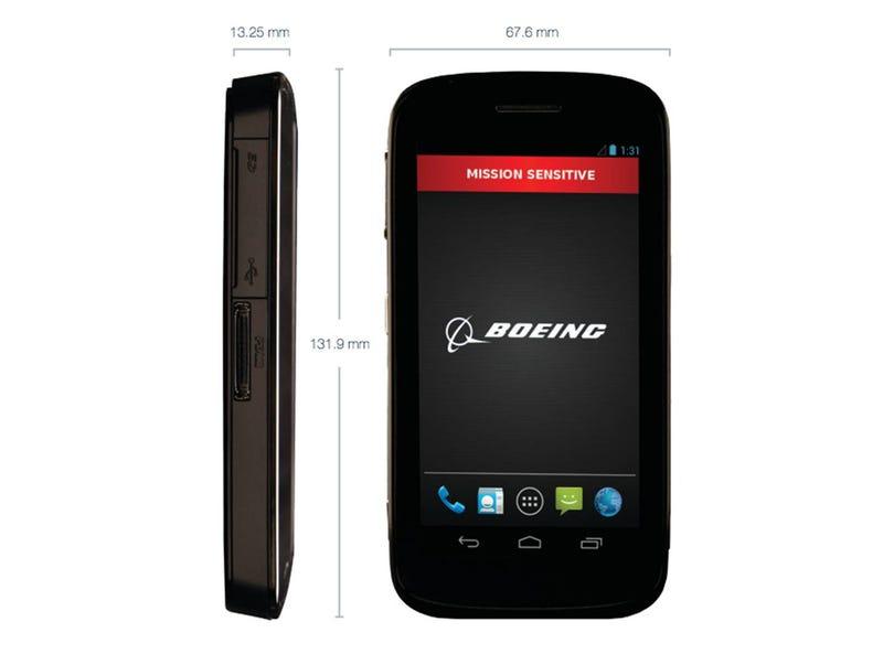 Boeing se pasa a los móviles: fabricará un Android de alta seguridad