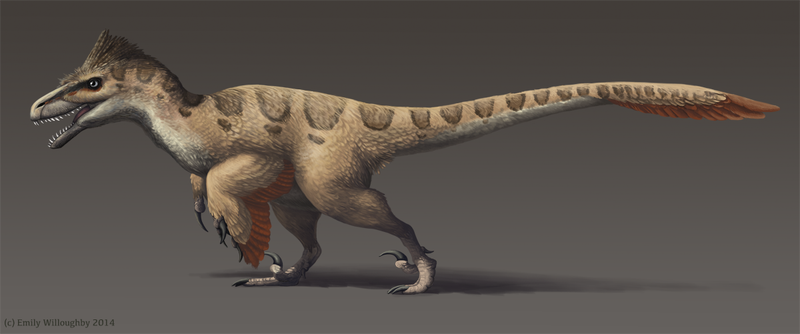 Illustration for article titled Another Fine Feathered Friend from the Cretaceous