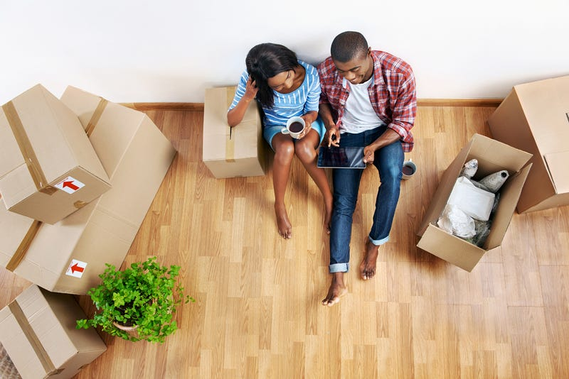 The average American will move nearly 12 times in his or her life.