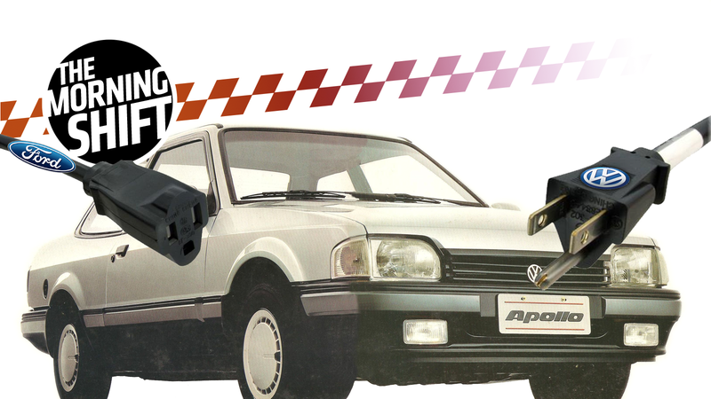 Serious VW/Ford fans will understand the choice of the car in this graphic. Illustration by Jason Torchinsky/Jalopnik