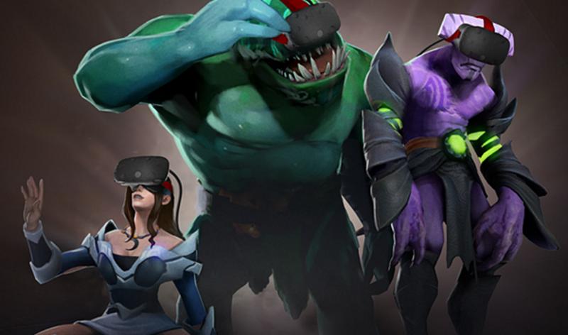 DOTA 2 Adds VR Spectator Mode