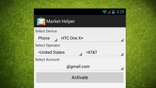 Illustration for article titled Market Helper Enables Incompatible Apps on Rooted Android Phones