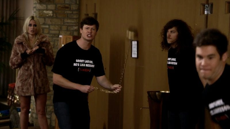 Jenny Shakeshaft, Anders Holm, Blake Anderson, Adam DeVine (Comedy Central)