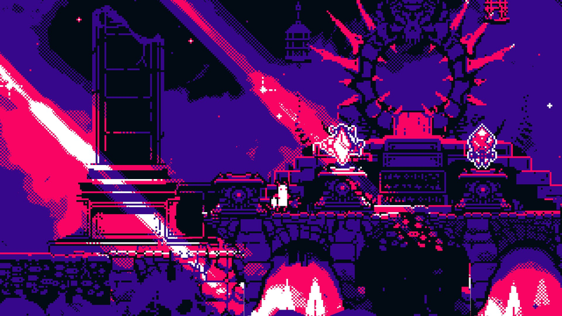 Illustration for article titled A Bullet Hell Set In Hell That's Heaven To Play