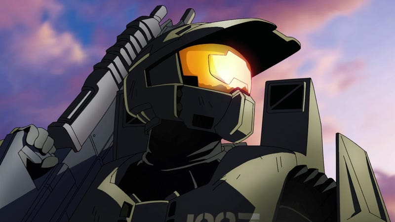 Illustration for article titled First Images Of Halo Anime