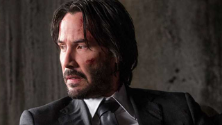 Keanu Reeves as John Wick.