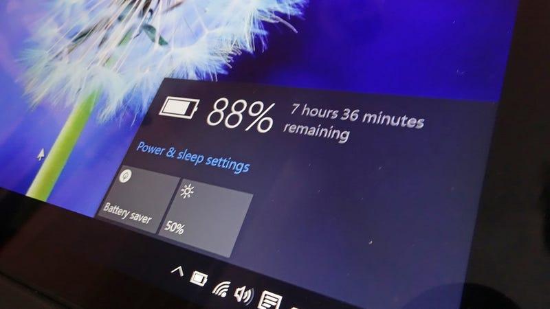 Illustration for article titled Cómo maximizar la vida de la batería en Windows 10