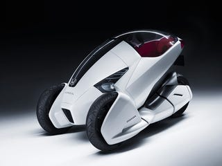 Illustration for article titled Honda 3R-C Concept: First Photos