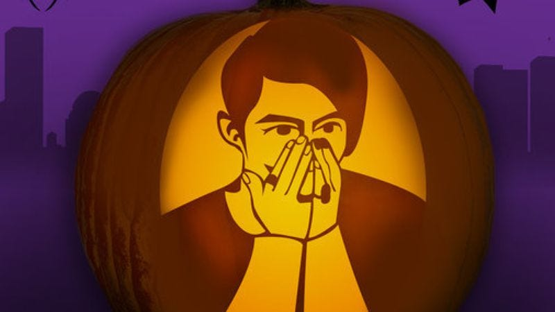 Illustration for article titled Now you can make SNL-themed jack-o'-lanterns