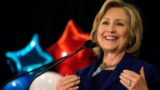 Hillary Rodham Clinton in 2014Bryan Thomas/Getty Images