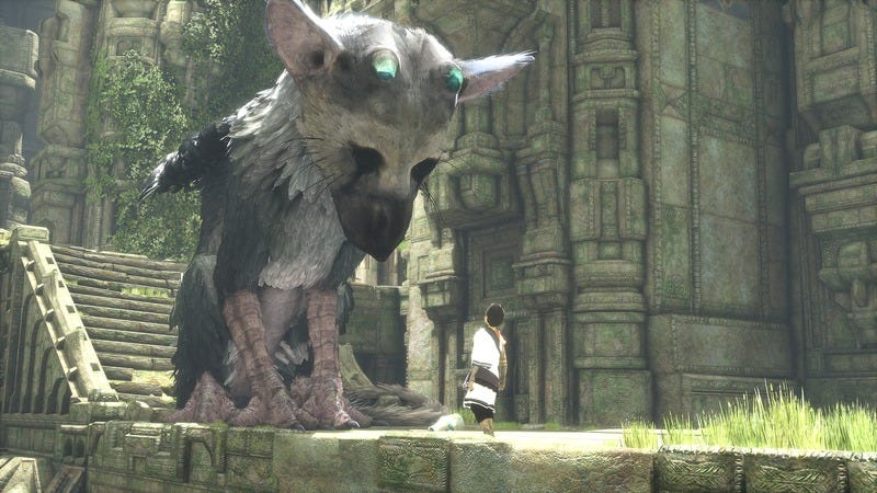 Illustration for article titled Long-awaited The Last Guardian is coming out on PS4 in 2016