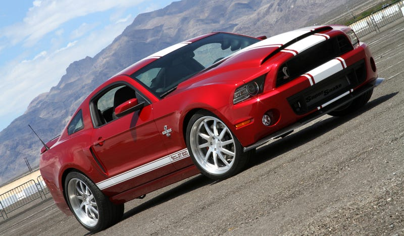 Illustration for article titled The 2013 Shelby Super Snake Is 850 Horsepower Of Tire-Shredding Pony Car Goodness