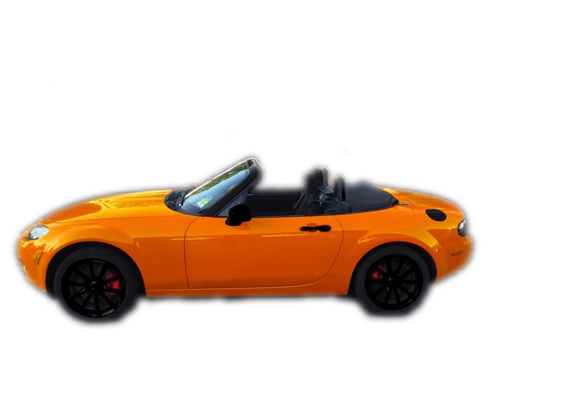 Illustration for article titled I want to paint my car orange.