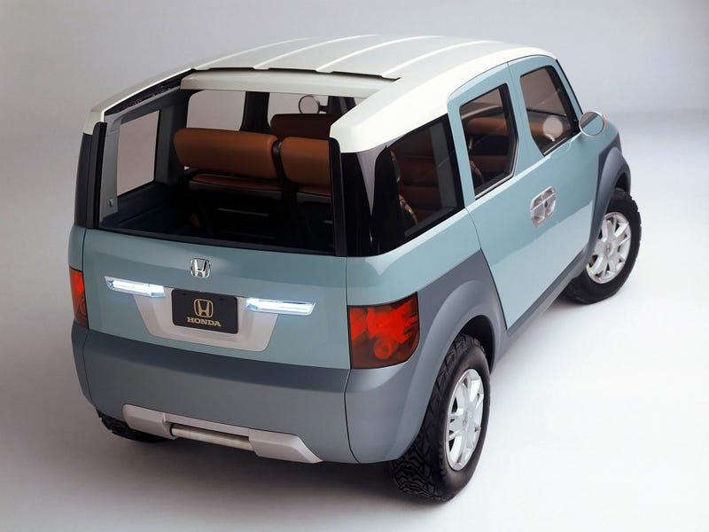 2018 honda element. modren 2018 today i learned the 2001 concept that became honda element was  calledu2014no shitu2014the model x time is a flat circle inside 2018 honda element n