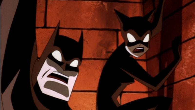 Cult Of The Cat Batman The Animated Series