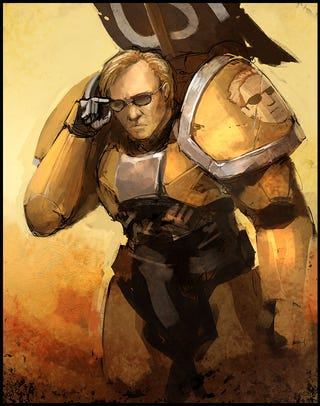 Illustration for article titled Now it's Warhammer 40K...