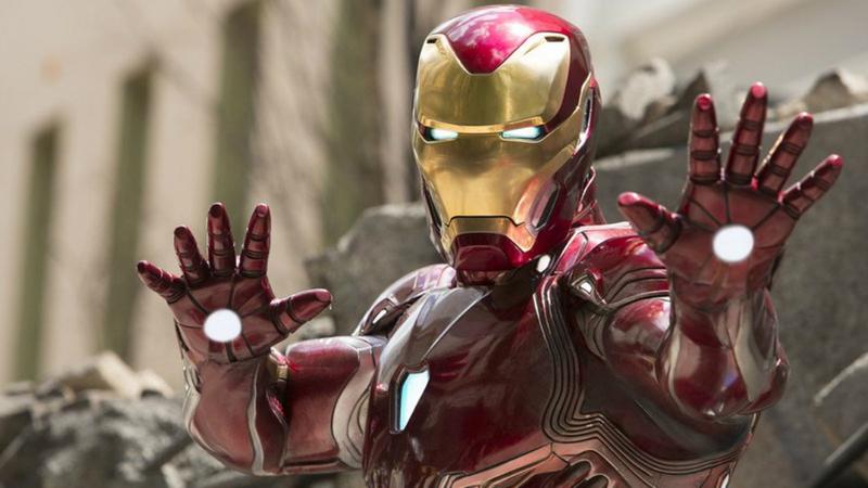 Iron Man, ready to go.