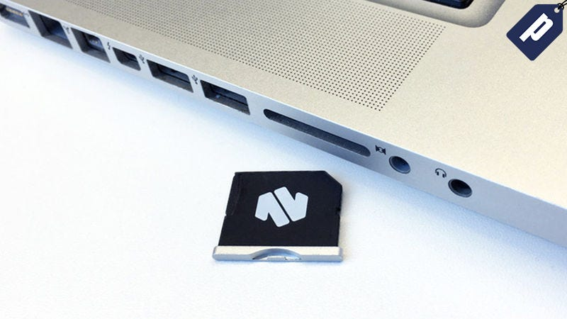 Illustration for article titled Add Up To 200GB Of Storage To Your Macbook With Nifty MiniDrive (15% Off)