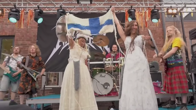 The first Heavy Metal Knitting World Championship was as awesome as it sounds