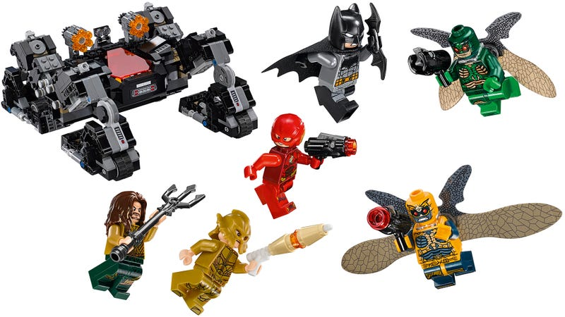 Illustration for article titled Lego's Justice League Sets Reveal the Film's Villains, and More of Batman's Wonderful Toys