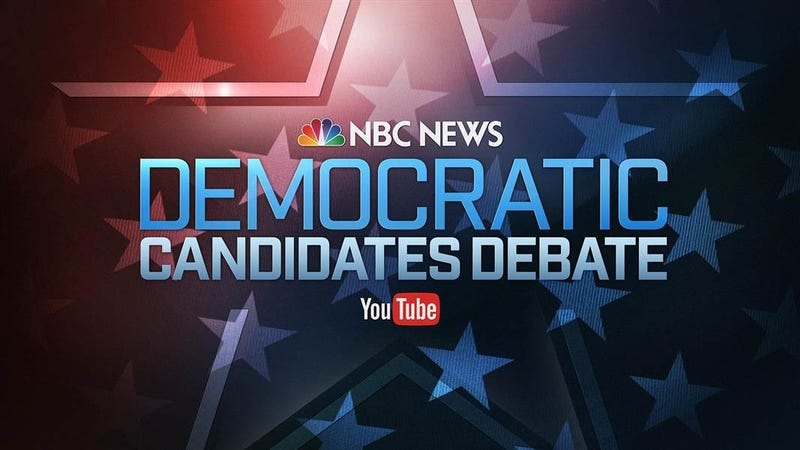 Illustration for article titled How to Stream NBC News' Democratic Debate Tonight, No Cable Required