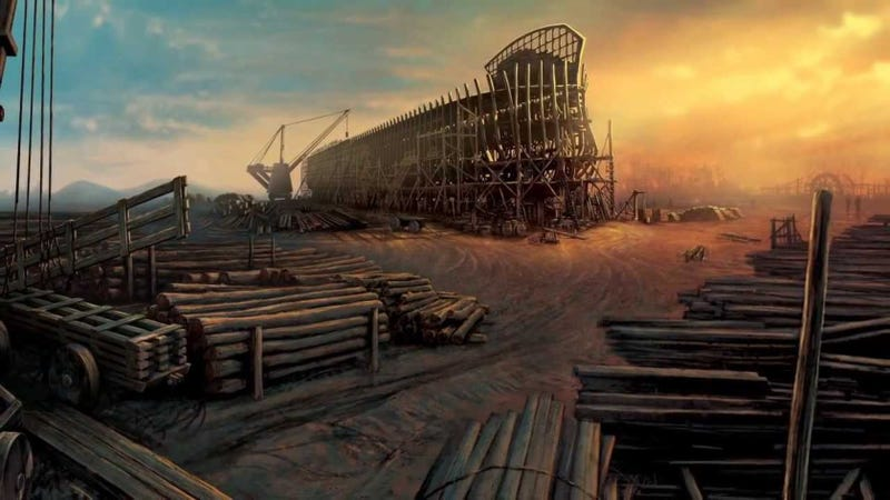 Illustration for article titled How A Creationist Theme Park Is Rebuilding Noah's Ark