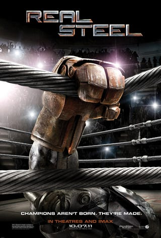 Illustration for article titled Real Steel poster