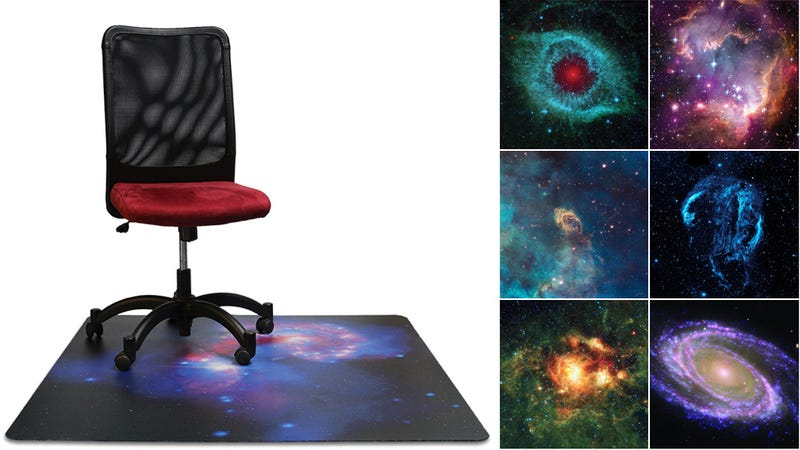 Illustration for article titled Put an Entire Galaxy Under Your Office Chair