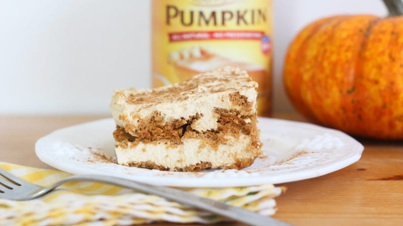 Illustration for article titled This Pumpkin Icebox Cake Is the Perfect Thanksgiving Treat for Lazy People