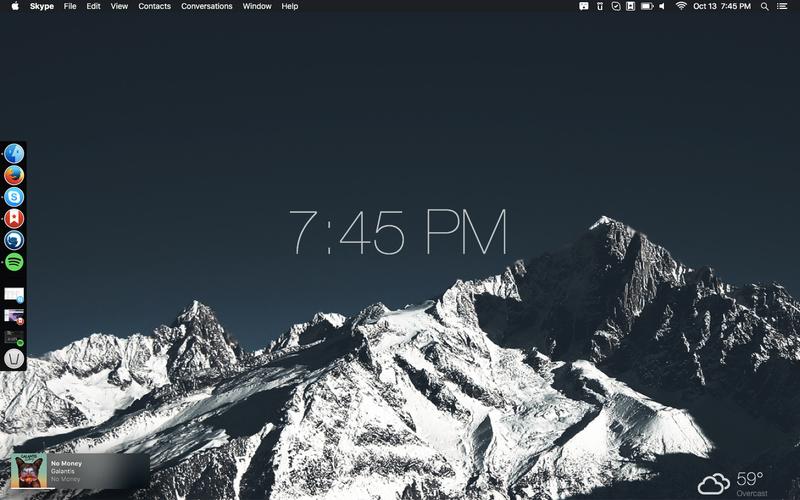 The Mountaintop Desktop