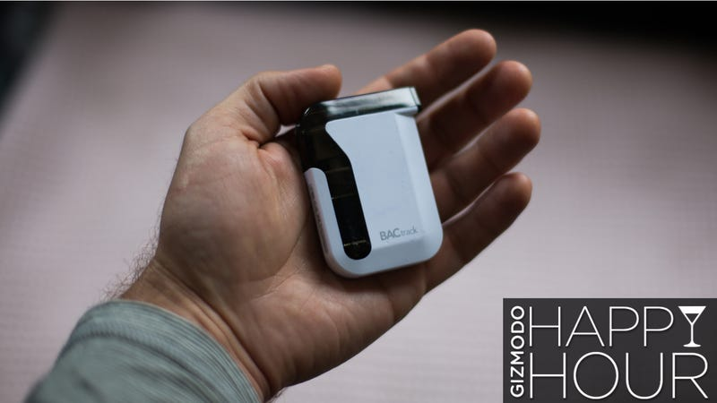 BACtrack Mobile Breathalyzer Review: Drunk Tracking With
