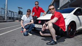 New Honda Civic Type R on track (Videos!)