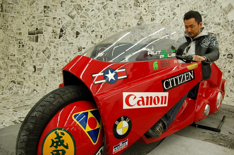 Hands On With The Official Akira Bike