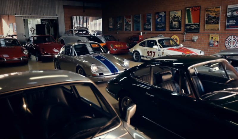 Illustration for article titled One Man's Quest For The Ultimate Porsche 911 Collection