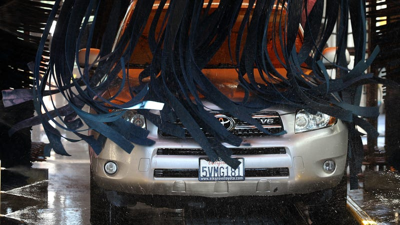 here s why you should never take your car to a carwash