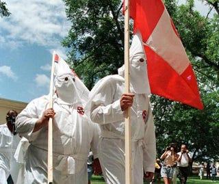 Members of the Ku Klux KlanPAUL BUCK/AFP/GettyImages